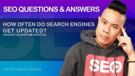 ▷SEO Questions and Answers: How often do search engines get updated? Google algorithm update sensors