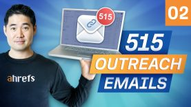 Link Building Case Study: Results of 515 Outreach Emails [Ep. 2]
