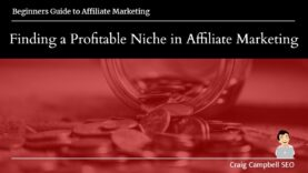 Finding a Profitable Niche in Affiliate Marketing, Find your Niche
