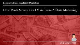How Much Money Can You Make From Affiliate Marketing
