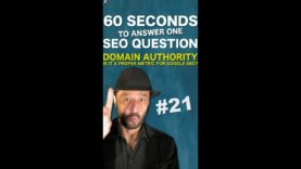 Domain Authority for SEO : is it a proper metric for Google Search Engine Optimisation? #Shorts