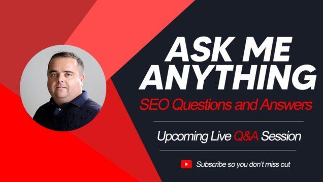 FREE SEO Training, Live SEO Q&A