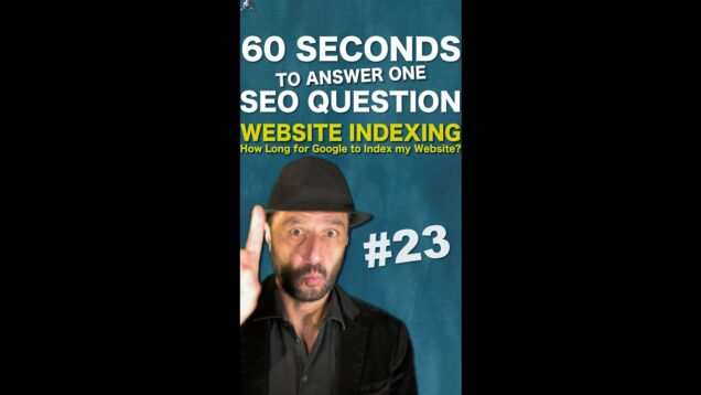 Google Indexing: How Long for Google to Index my Website? – SEO Conspiracy QA #Shorts