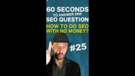 How To Do SEO With NO Money? – SEO Conspiracy QA #Shorts