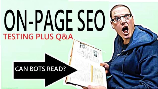 On Page SEO 2021 – SEO Experiment