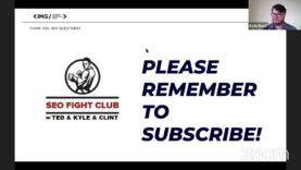 SEO Fight Club – Episode 96 – The SEO Meta Game