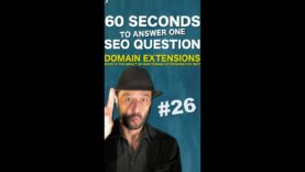 What is the impact of new domain extensions for SEO on Google? – SEO Conspiracy QA #Shorts