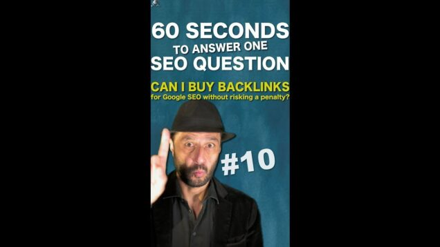 Can I buy backlinks for Google SEO without risking a penalty? – SEO Conspiracy QA #Shorts