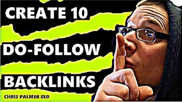 How to Create Do Follow Backlinks 2021