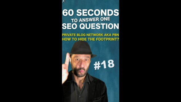 How to hide footprints to build a Private Blogs Network aka PBN? – SEO Conspiracy QA #Shorts