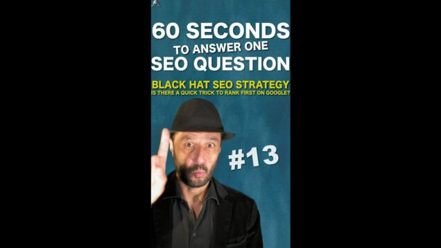 Is there a quick Black Hat SEO strategy to rank first on Google? – SEO Conspiracy QA #Shorts