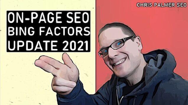 On-Page SEO 2021 – SEO Factors