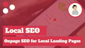 Onpage SEO for Local Landing Pages, Local SEO Tips
