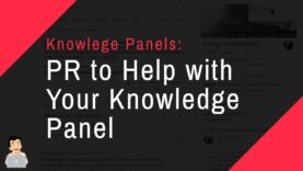 Using PR to Help with Knowledge Panel, Not Noteworthy enough for a Knowledge Panel?