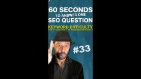 How To Evaluate Keyword Difficulty? – SEO Conspiracy QA #Shorts
