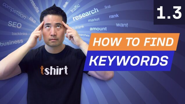 Keyword Research Pt. 2: How to Find Keywords for Your Website – 1.3. SEO Course by Ahrefs
