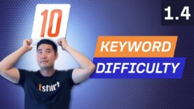 Keyword Research Pt 3: Understanding Ranking Difficulty – 1.4. SEO Course by Ahrefs