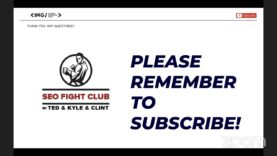SEO Fight Club – Episode 88 – SEO & Content