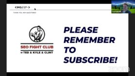 SEO Fight Club – Episode 98 – If they can do it then why can't I?