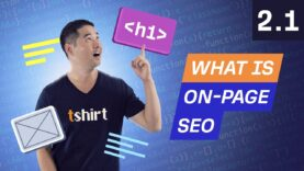 What is On-Page SEO – 2.1. SEO Course by Ahrefs
