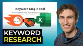 How to Update Your Keyword Research with Semrush & VLOOKUP (SEO Tutorial)