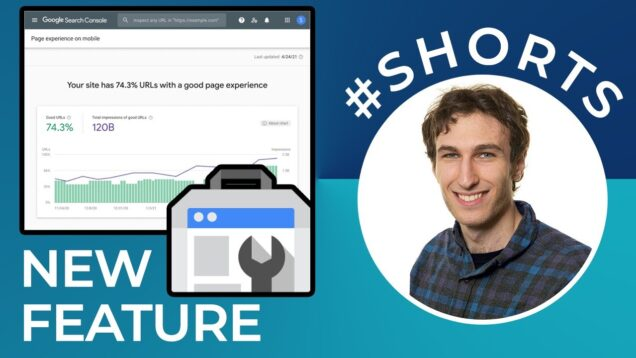 Page Experience on Mobile (New Report in Google Search Console) #shorts
