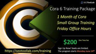 Cora 6 Training Program: Small Group Training & Coaching