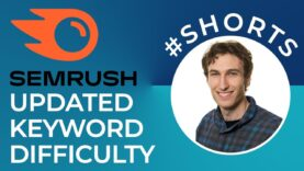 New Semrush Keyword Difficulty Metric #shorts