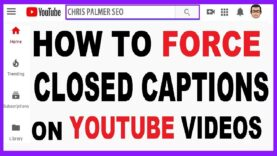 Video SEO: How to Force Captions #shorts