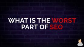 What is the Worst Part of SEO #shorts
