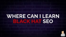 Where Can I Learn Black Hat Techniques for SEO? [Black Hat SEO Course] #shorts