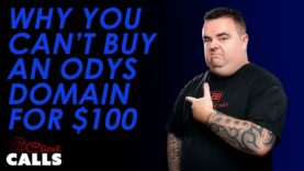 Why You Can't Buy An ODYS Domain for $100 [Client Calls Ft. ODYS]