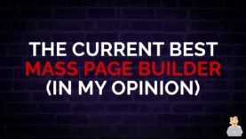 What is the Current Best Mass Page Builder? [In my Opinion] #SEOshorts