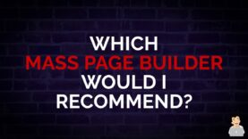 What Mass Page Builders Would I Recommend? #shorts