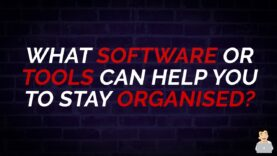 What Software or Tools can help you to stay Organised? #shorts
