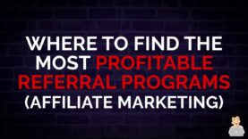Where to Find the Most Profitable Referral Programs [Affiliate Marketing] #SEOShorts