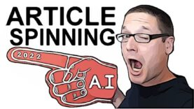 How to Rewrite Articles 🌪 A.I Article Spinning