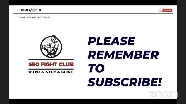 SEO Fight Club – Episode 113 – SEO Checklists