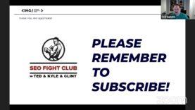 SEO Fight Club – Episode 119 – Keyword Clustering Basics