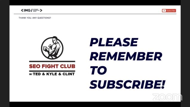 SEO Fight Club – Episode 120 – Argument Against Intent & Quality