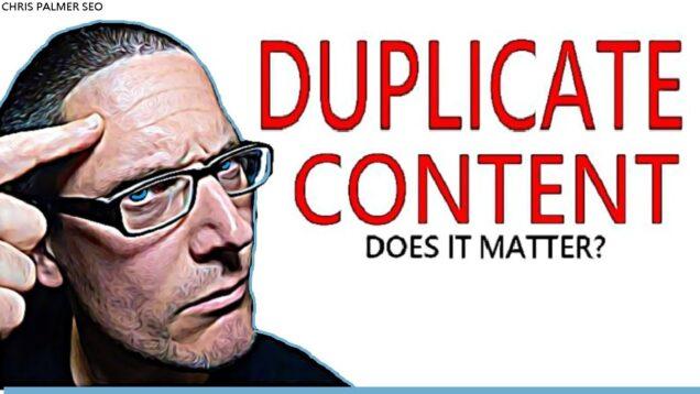 Google SEO Tips: Duplicate Content