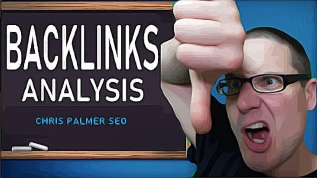 SEO Backlinks Analysis 2021