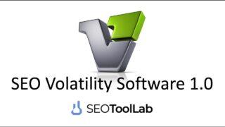 SEO Volatility Software