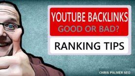 YouTube SEO Backlinks For Ranking Videos