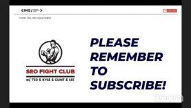 SEO Fight Club – Episode 128 – Suspending Disbelief